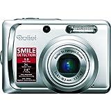 Rollei Compactline 55 Digitalkamera (5 Megapixel, 3-fach opt. Zoom, 6,1 cm (2,4 Zoll) Display) schwarz