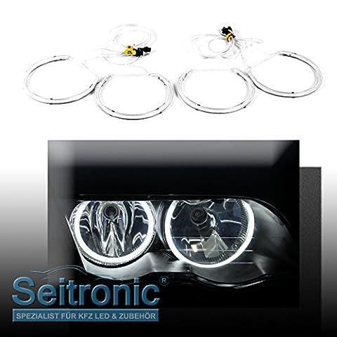 Seitronic CCFL E46 ohne Xenon Angel Eyes- Standlicht Ringe, Xenon Weiss