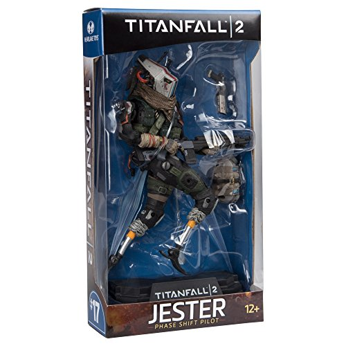 Image of Green Titanfall 2 Jester 7 inch Collectible Action Figure