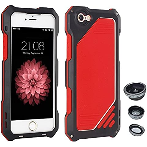 Skitic Antiurto Custodia Cover per iPhone 5 / 5G / 5S / SE, 3 in (Foto Nero Doppio Mat)