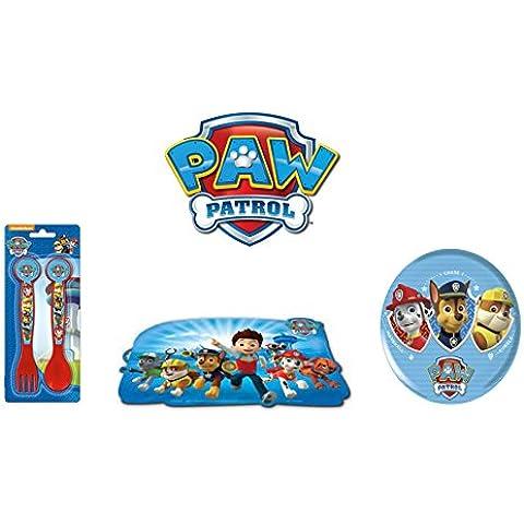 Paw Patrol - Set colazione del cartone