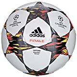 adidas Fußball Finale 2014 Capitano, White/Solar Blue/Solar Gold, 5, F93307