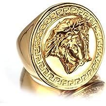 Bague versace femme or