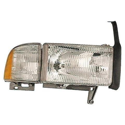 1994-2002 Dodge Ram 1500 Left Mopar Value Line Headlamp - V7106749AA by (1994 2001 Dodge Ram)