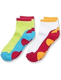 Nur Die Kinder Sport Socken Doppelpack, Calcetines de Deporte para Niñas
