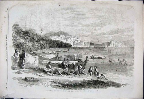 baia-napoli-della-riva-di-lazzaroni-1856-dalla-vecchia-stampa-colta-italia