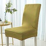 Raylans 4 Pcs Housse de Chaise de Mariage Florale Imprimé Housse de Protection Extensible de Chaise pour Décor Restaurant, Maison, Hôtel,Salle à Manger et Réunion etc