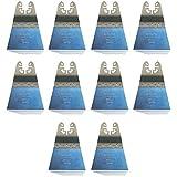 10x e de scie Cut bois, de 68mm extra long life Bi métal pour Black + Decker Outil multifonction