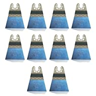 10x E-Cut Sägeblatt Holz, 68mm Extra-Long-Life Bi-Metall für Ridgid Multi-Tool