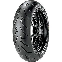 Pirelli Diablo Rosso II Tire - Rear - 200/50ZR-17 , Position: Rear, Rim Size: 17, Tire Application: Sport, Tire Size: 200/50-17, Tire Type: Street, Load Rating: 75, Speed Rating: W, Tire Construction: Radial 2322000