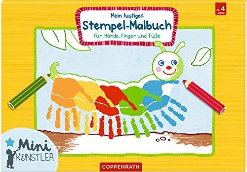 Mein lustiges Stempel-Malbuch: für Hände, Finger und Füße (Mini-Künstler)