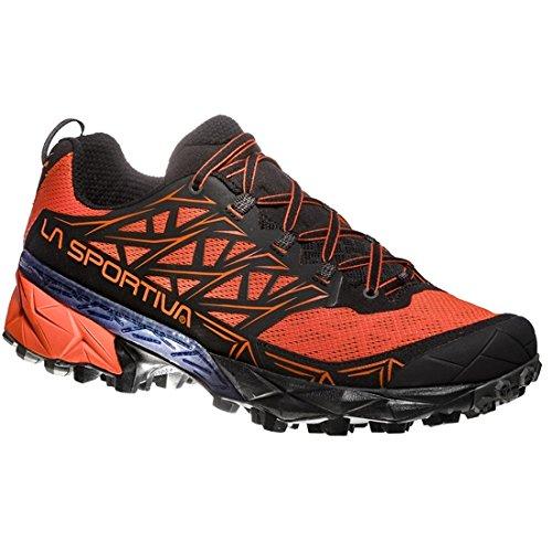 La Sportiva Akyra, Scarpe da Trail Running Uomo, Multicolore (Tangerine/Black 000), 40 EU