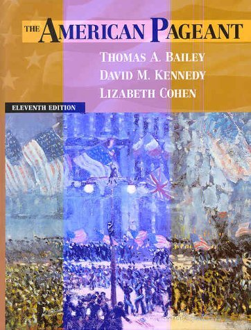 American Pageant: A History of the Republic by Thomas Bailey (1997-08-05)