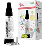 SodaSparkle casa Soda eléctrica Kit fácil brillante Seltzer bebidas gaseosas eléctrica