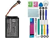 Cameron Sino Batterie pour TomTom Go 5100/4FL50/GO 6100/4fl60/GO 6000/GO 5000Pro/Truck 5250avec 14en 1Kit d'outils réparation Kit