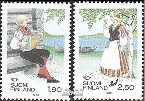 Finnland 1084-1085 (kompl.Ausg.) 1989 Volkstrachten (Briefmarken für (Volkstrachten Französische)
