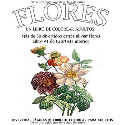 Flores Colorear Libro En Espanol PDF Download   PeggyKathryn