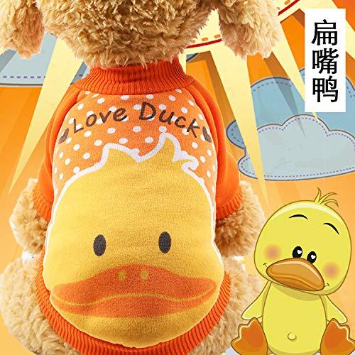 DJFIREGMNIJ Pet Kleidung Teddy Als Panda Herbst Und Winter Faltbare Wäsche Warmen Pullover Süß (C Abschnitt Kostüm)
