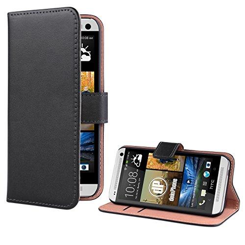 DeinPhone HTC One M7 PREMIUM Flip Case, Nero...