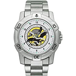 Zanheadgear 'US Army' Stainless Steel Military Watch (Chrome)