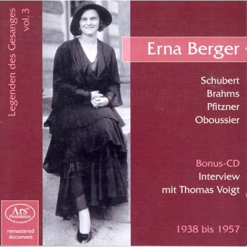 Interview Erna Berger: Wollt ihr den totalen Krieg?