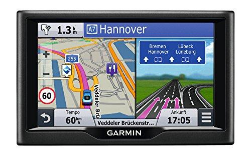 Garmin nüvi 57LMT Navigationsgerät - Zentraleuropa Karte, lebenslange Kartenupdates, Premium Verkehrsfunklizenz, 5 Zoll (12,7cm) Touchscreen