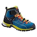 SALEWA Jr Alp Player Mid Gore-Tex, Scarpe da escursionismo Unisex - bambino, Blu (Crystal/Citro 2412), 27 EU
