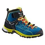 Salewa Alp Player Mid Gore-Tex - HALBHOHER Bergschuh Kinder, Unisex-Kinder Trekking- & Wanderstiefel, Blau (Crystal/Citro 2412), 26 EU (8.5 Kinder UK)