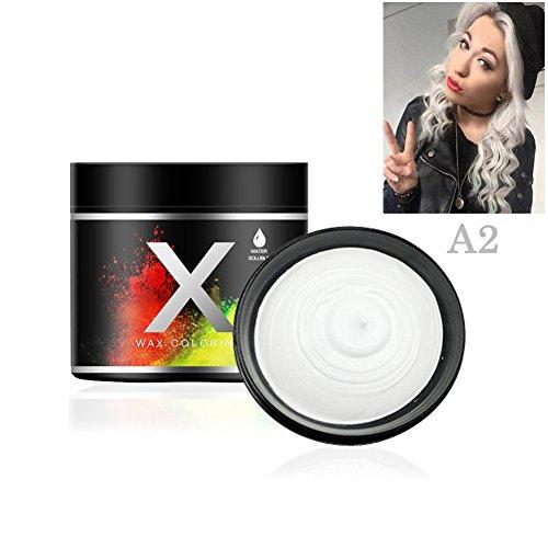 Allbesta Damen Männer Haarfärbemittel Disposable One Time Dye Hair Wax Mud Strong Lasting Haarfarbe Easy Coloring Travel Size