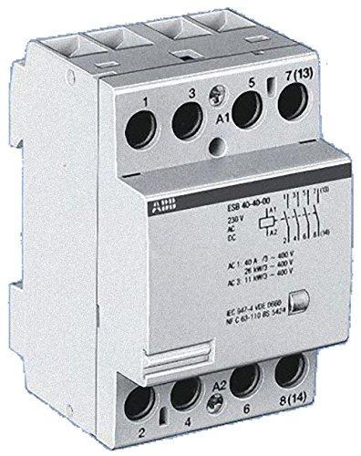 Abb-entrelec esb24-31/230v - Contactor esb 24-31 230v 3na+1nc