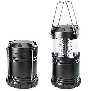 Aerb Lanterna LED Campeggio- Resistente All'acqua, Casa-Collapses -Adatto per: escursioni, campeggi, Emergenze, uragani, interruzioni - Super Bright - Leggero