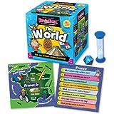 Green Board Games BrainBox The World - Juego de preguntas sobre el mundo (en inglés)