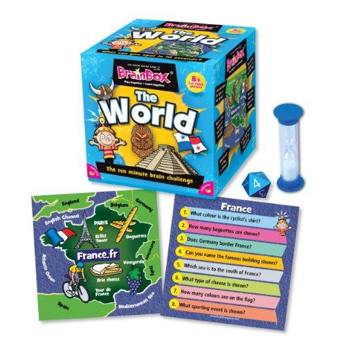 Imagen 6 de Green Board Games BrainBox The World - Juego de preguntas sobre el mundo (en inglés)