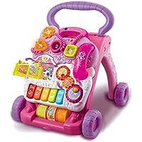 VTech Baby Correpasillos andandín 2 en 1, color rosa, versión española