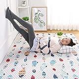Teppichauflagen Tatami Baby Krabbeldecke Kinder Krabbeldecke Teppich multifunktionale Teppich Teppich Kinder Spiel Matten Home Shop Tischset 27,3 * 70,9 in Beige Fisch (Farbe: Beige, Größe: 120 * 190C