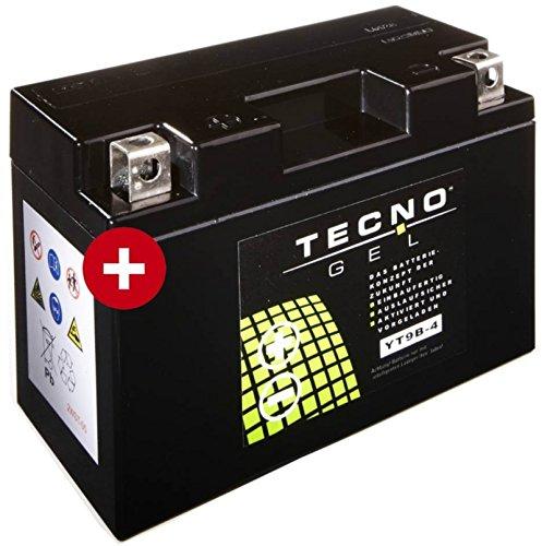 GEL Batterie YT9B-4 Yamaha YZF-R6 600 2003-2005 von TECNO