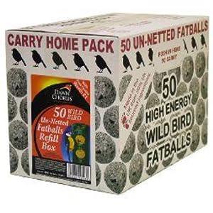 Dawn Chorus 50 Pack Fat Balls in BOX (No Net)