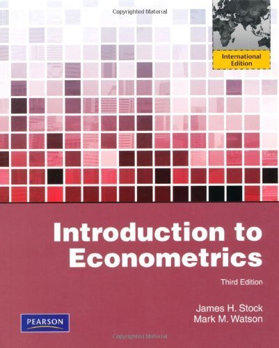 Introduction to Econometrics by James H. Stock (2011-02-01)