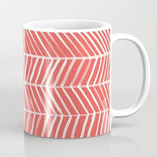 quadngaagd-coral-herringbone-logo-taza-de-cafe-taza-de-te-blanco