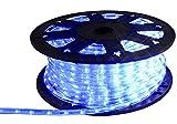 1 Meter LED Lichtschlauch als Meterware blau
