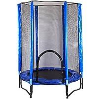 Preisvergleich für Wly&Home Trampolin, Indoor mit Sicherheitsnetz Frühling Trampolin, Kinder Outdoor-Bungee-Bett Hause Spielplatz Namens Schwerkraft