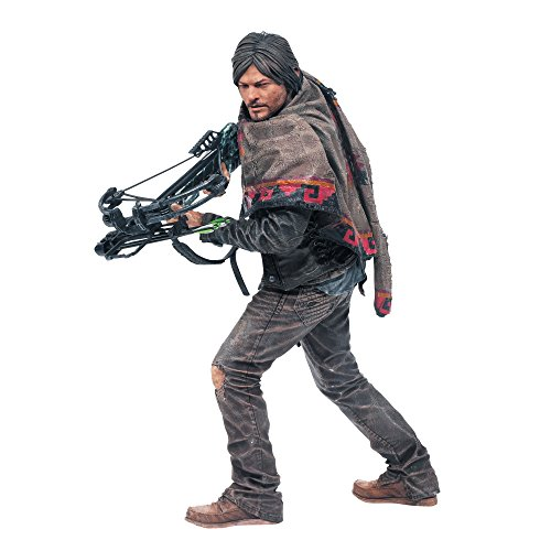 McFarlane Toys 14470 - The Walking Dead TV Daryl Dixon Deluxe Figur 25 cm (Deluxe Dead Walking)