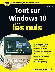 """Afficher """"Tout sur Windows 10 pour les Nuls, 2e édition"""""""