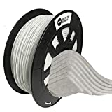 Shuzhen,3D Drucker Marmor PLA Filament 1,75 MM Für TEVO ANET Creality 3D Drucker(Color:Weiss)