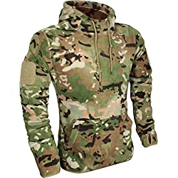 Viper Hombres Tactical Paño Grueso y Suave Hoodie V-Cam tamaño M