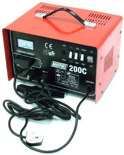 Maypole 7225 Chargeur de batterie 12-24 V 20 A 200 A max.