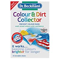 Dr. Beckmann 24 Sheets Colour and Dirt Collector Microfiber Laundry