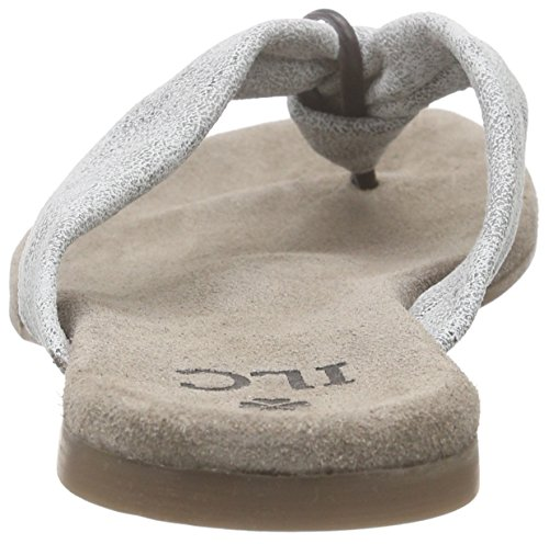 I love candies ILC Sandale, Tongs femme Gris - Grau (Grey 209)