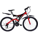 #6: Hero 26T Octane DTB Bicycle, Size 26 (Black/Red)