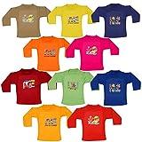 Tirupur Fashion Biz Boy's Cotton FullSleeve Multi Printed T-Shirts, 6-12 Months (Multicolour, T-Shirts_Joy_3) - Pack of 10